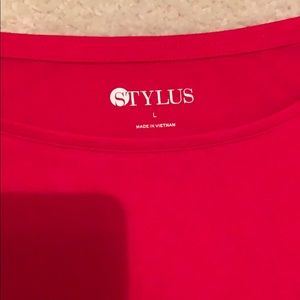 Long sleeve Red top